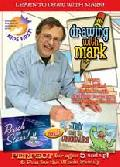 Click for detailed review of DRAWING WITH MARK: A DAY WITH THE DINOSAUR/REACH FOR THE STARS