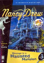 NANCY DREW: MESSAGE IN A HAUNTED MANSION cover image
