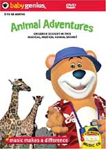 BABY GENIUS: ANIMAL ADVENTURES cover image