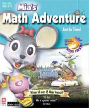 MIA'S MATH ADVENTURE: JUST IN TIME!