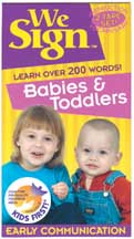 WE SIGN: BABIES & TODDLERS cover image