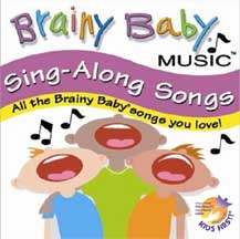 Order Audio BRAINY BABY: SING ALONG SONGS (CD)