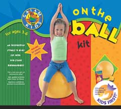 YOGA KIDS: ON THE BALL 3-6