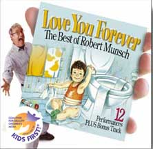 LOVE YOU FOREVER, THE BEST OF ROBERT MUNSCH cover image