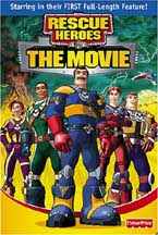 RESCUE HEROES: THE MOVIE cover image