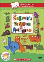 SCRAMBLED STATES OF AMERICA�AND MORE STORIES TO CELEBRATE OUR COUNTRY cover image