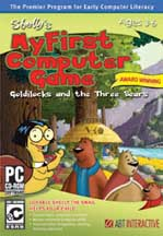 SHELLY'S MY FIRST COMPUTER GAME GOLDILOCKS AND THE THREE BEARS