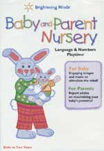 BABY AND PARENT NURSERY: LANGUAGE & NUMBERS PLAYTIME cover image
