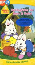 MAX & RUBY: SPRINGTIME FOR MAX & RUBY cover image