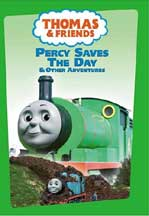 THOMAS & FRIENDS: PERCY SAVES THE DAY cover image