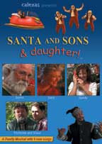 SANTA AND SONS & DAUGHTER! cover image