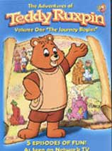 ADVENTURES OF TEDDY RUXPIN, THE JOURNEY BEGINS cover image