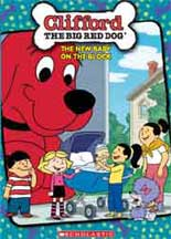 CLIFFORD THE BIG RED DOG: NEW BABY ON THE BLOCK. cover image