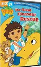 DIEGO THE GREAT DINOSAUR RESCUE cover image