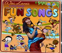 WAI LANA'S LITTLE YOGIS FUN SONGS CD