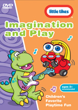 LITTLE TIKES: IMAGINATION AND PLAY cover image