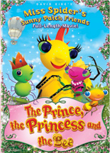 MISS SPIDER SPECIAL: THE PRINCE, THE PRINCESS & THE BEE cover image
