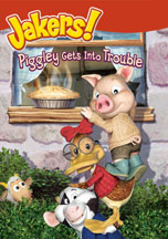 JAKERS! PIGGLEY GETS INTO TROUBLE cover image
