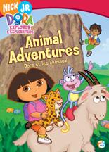 DORA THE EXPLORER: ANIMAL ADVENTURE cover image