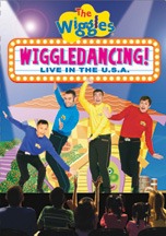 WIGGLES, THE:  WIGGLEDANCING LIVE IN THE U.S.A. cover image