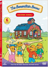BERENSTAIN BEARS: DISCOVER SCHOOL cover image