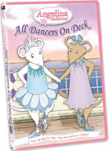 ANGELINA BALLERINA: ALL DANCERS ON DECK cover image