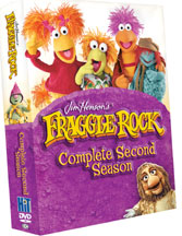 FRAGGLE ROCK, COMPLETE SECOND SEASON cover image
