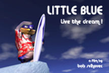 LITTLE BLUE: LIVE THE DREAM cover image