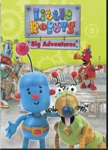 LITTLE ROBOTS: BIG ADVENTURES cover image