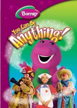 BARNEY: YOU CAN BE ANYTHING cover image