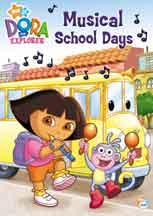 DORA THE EXPLORER: MUSICAL SCHOOL DAYS cover image
