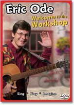 ERIC ODE: WELCOME TO THE WORKSHOP cover image
