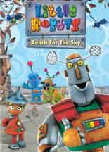 LITTLE ROBOTS: REACH FOR THE SKY cover image