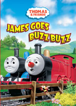 THOMAS & FRIENDS: JAMES GOES BUZZ BUZZ cover image