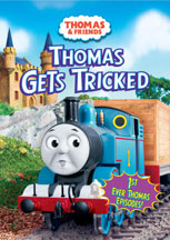THOMAS & FRIENDS: THOMAS GETS TRICKED cover image