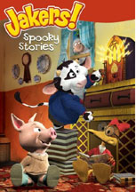 JAKERS!: SPOOKY STORIES cover image