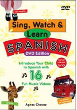 SING, WATCH & LEARN SPANISH cover image