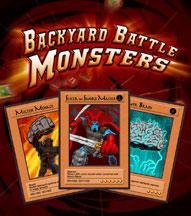 BACKYARD BATTLE MONSTERS cover image