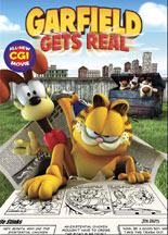 GARFIELD GETS REAL cover image