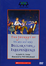 JOURNEY OF THE ONE AND ONLY DECLARATION OF INDEPENDENCE cover image