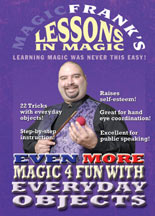 MAGICFRANK'S LESSONS IN MAGIC: EVEN MORE MAGIC 4 FUN DVD
