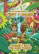ADVENTURES OF TEDDY P. BRAINS, THE cover image