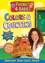 PHONICS 4 BABIES: COLORS & COUNTING cover image
