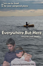 EVERYWHERE BUT HERE cover image