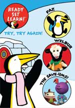 READY SET LEARN!: TRY, TRY AGAIN! (VOL 1) cover image