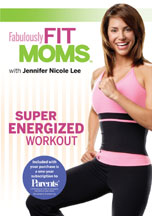 FABULOUSLY FIT MOMS: SUPER ENERGIZED WORKOUT cover image