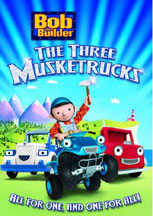 BOB THE BUILDER: THE THREE MUSKETRUCKS cover image