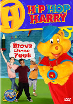 HIP HOP HARRY: MOVE THOSE FEET cover image