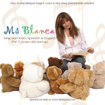 MS BLANCA: SPANISH &  ENGLISH SING AND LEARN cover image