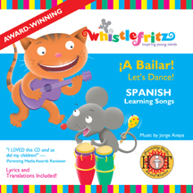 A BAILAR LET'S DANCE! - SPANISH LEARNING SONGS CANCIONES INFANTILES